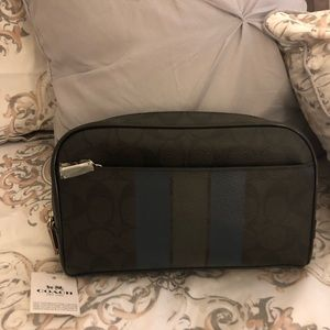 Men's Coach shave/toiletry bag NWT